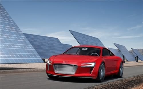The-Audi-e-tron-car