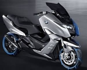 bmw concept scooter